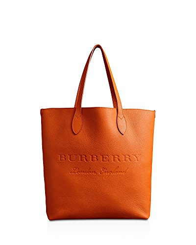Burberry Remington Embossed Leather Tote