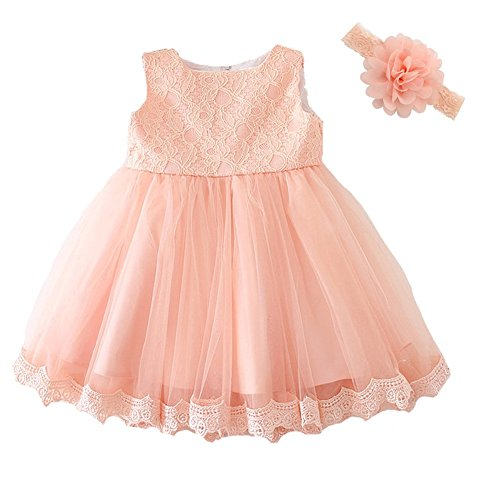 Moon Kitty Baby Girls Dresses Pageant Lace Formal Dress