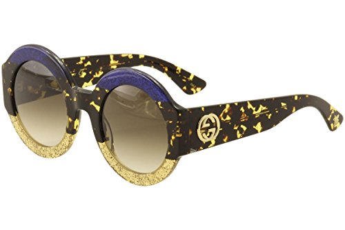 Gucci BLUE / BROWN / AVANA Sunglasses