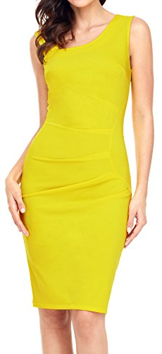 Aixy Women 1950s Vintage Retro Slim Style Sleeveless Business Pencil Cocktail Dress