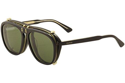 Gucci GG BLACK/GREEN Sunglasses
