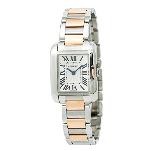 Cartier Tank Anglaise Quartz Female Watch (Certified Pre-Owned)