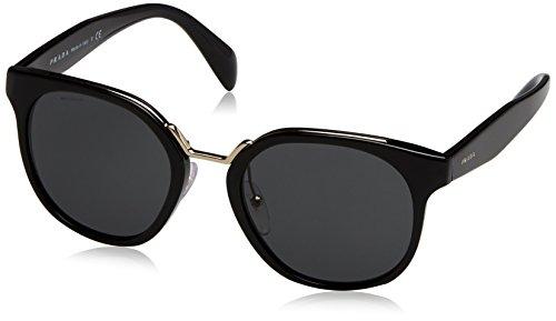 Prada Women's Black/Grey Sunglasses