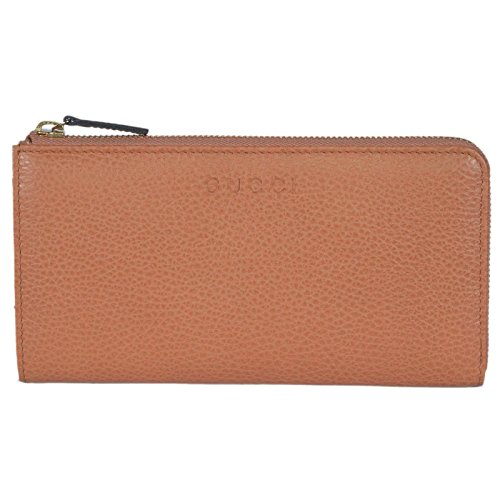 Gucci Women's Leather Zip Wallet (Saffron)