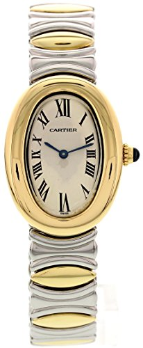 Cartier Baignoire quartz white womens Watch (Certified Pre-owned)