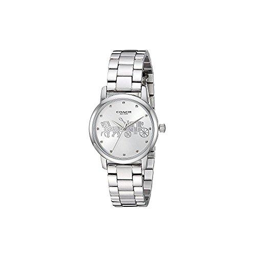 COACH Women's Grand - Silver White One Size