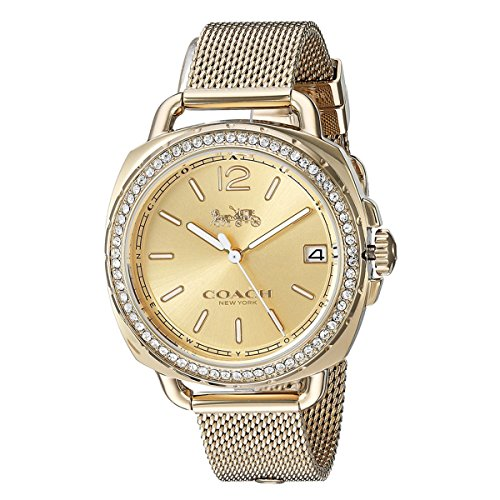 COACH Women's Tatum - Gold Watch