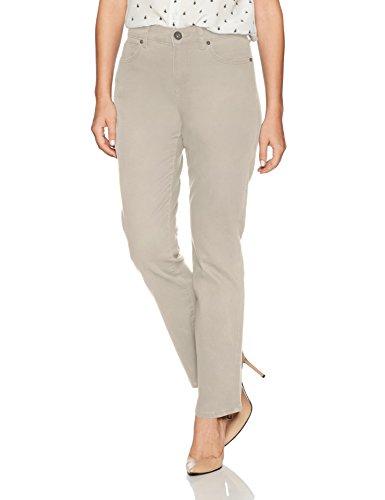 Bandolino Women's Petite Mandie Signature Fit 5 Pocket Jean, Creamstone, 12P Short
