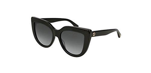 Gucci sunglasses Shiny Black - Grey Gradient lenses