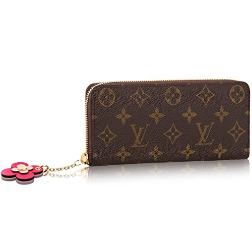 Louis Vuitton Monogram Canvas Wallet Clemence Article: Monogram Made in France