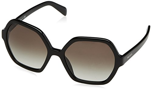 Prada Women's Black/Grey Gradient Sunglasses