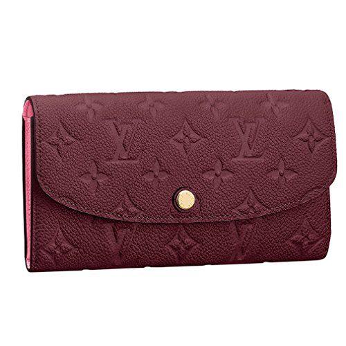Louis Vuitton Monogram Empreinte Leather Emilie Wallet Raisin Article: M62015