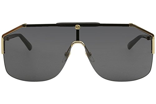 593e14fb Gucci gg0291s 100% Authentic Men's Sunglasses Gold 001