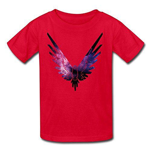 Erin Forman Youth Kids Popular Celebrity Short-Sleeve T-Shirt Logan Paul Logo Red M
