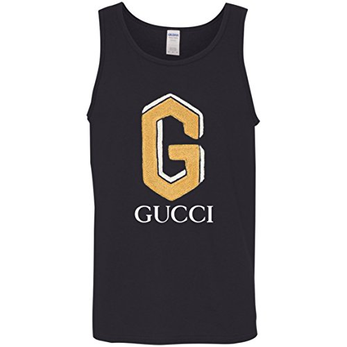 Cotton polo with Gucci Shirt Patch Cotton Tank Top
