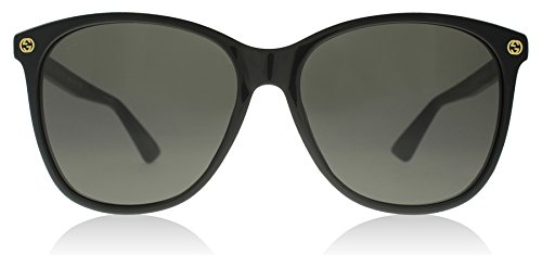 Gucci Black Round Sunglasses Lens Category 3 Size 58mm