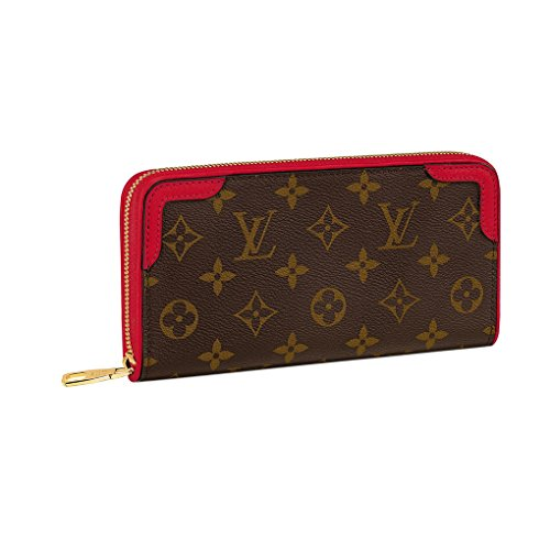 Louis Vuitton Monogram Canvas Zippy Wallet Rose Bruyere Article: M64151 Made in France