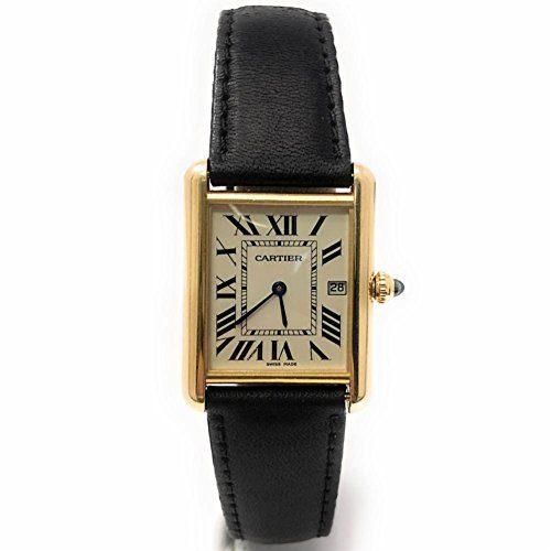 Cartier Tank Louis Cartier swiss-quartz mens Watch (Certified Pre-owned)