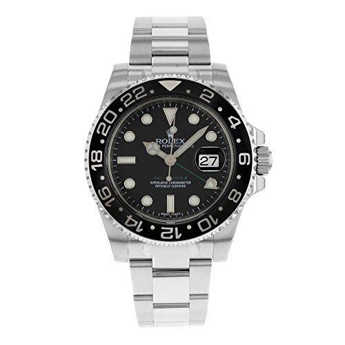 Rolex GMT Master II Steel Watch