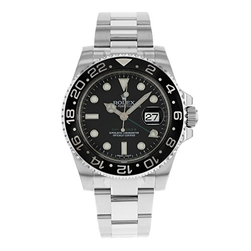 Rolex GMT Master II Steel Watch