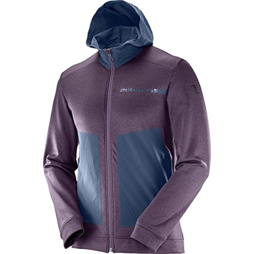 Salomon Men's Pulse Mid Hoodie, Mavericks, Medium