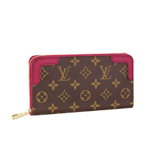 Louis Vuitton Monogram Zippy Wallet Retiro Cherry Article: M61854 Made in France