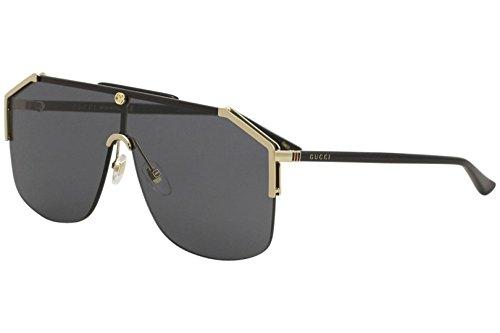 085b003ac7 Gucci gg0291s 100% Authentic Men s Sunglasses Gold 001 Clout Wear ...