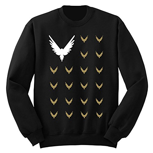 fresh tees Logang Maverick Club Kids Crewneck Sweatshirt(Black, Large/10-12 yrs)