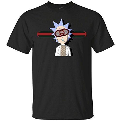 Rick And Morty Gucci T-Shirt, Gucci Tee Gucci, Rick And Morty Unisex Cotton T-Shirt