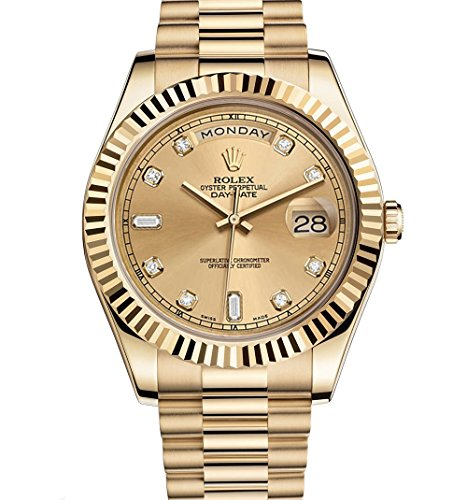 Rolex Day-Date II 2 President Yellow Gold Watch 218238