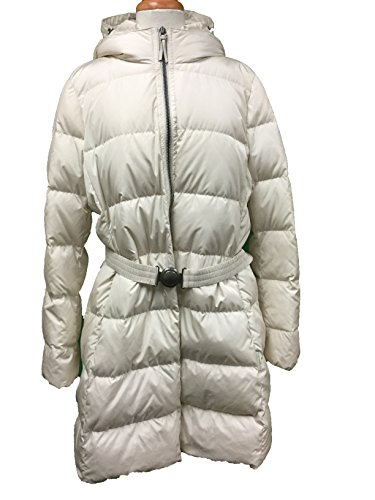 Coach Womens Legacy Long Down Puffer Without Fur Jacket Coat XL (Salt)
