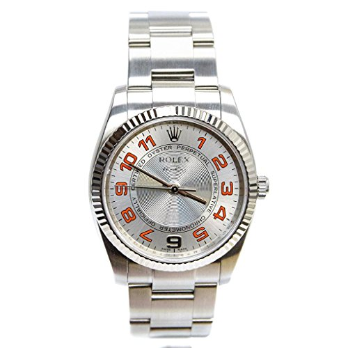 Rolex Air-King Automatic-self-Wind Male Watch (Certified Pre-Owned)