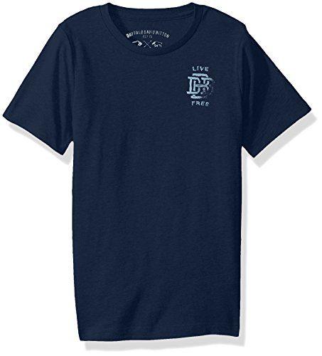 Buffalo by David Bitton Big Boys' Valy Tee Shirt, Whale, Medium (10/12)