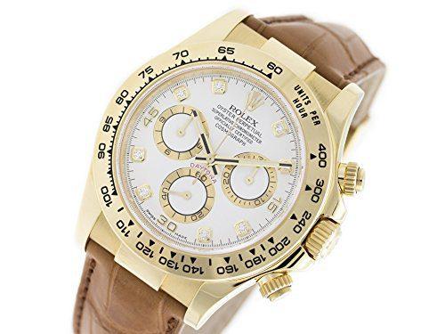 Rolex Daytona Swiss-Automatic Male Watch (Certified Pre-Owned)