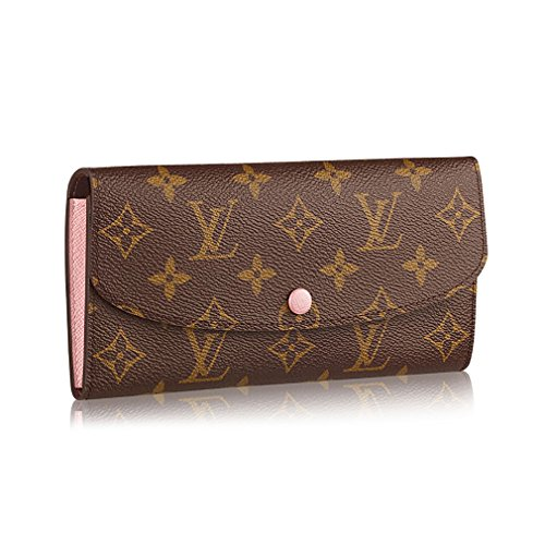 Louis Vuitton Monogram Canvas Monogram Canvas Emilie Wallet