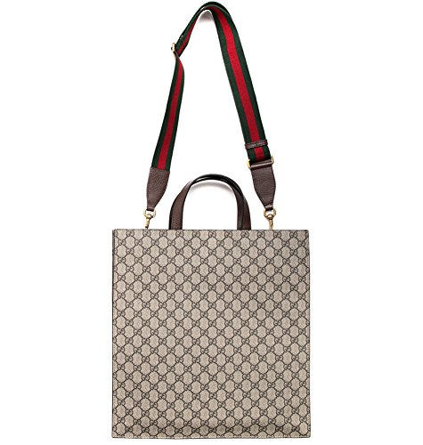 900bad7e988 Home Shop Women Accessories Handbags   Wallets Wiberlux Gucci Unisex Multiple  Patch Detail Striped Strap Tote Bag One Size Beige