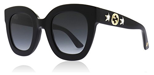 969420881 Home Shop Women Accessories Sunglasses & Eyewear Gucci Black Butterfly  Sunglasses Lens Category 3 Size 49mm