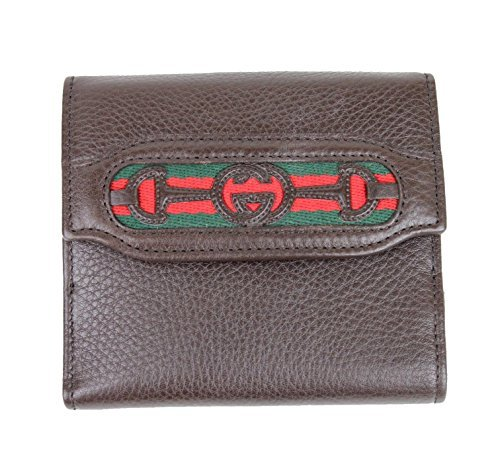 Gucci Women's Brown Interlocking G French Leather Wallet