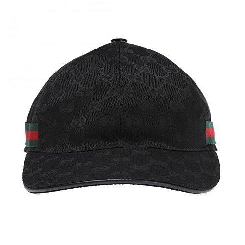61d1f363d12a9 Home Shop Men Accessories Hats   Caps Gucci Signature GG Guccissima Nylon  Baseball Cap