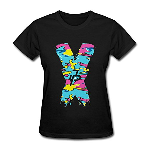 Best Two Women's Jake Paul X Logo Summer Shirt O Neck T-Shirts