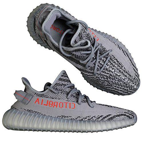 UADREAMLTD Hottest Luxury Design Sneakers 2018 New Dark Solid Grey Beluga Shoes US10 Men