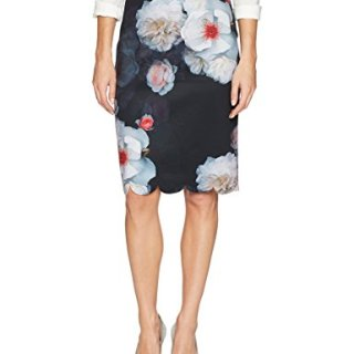 Ted Baker London Women's Laylie Skirt, Black, 3