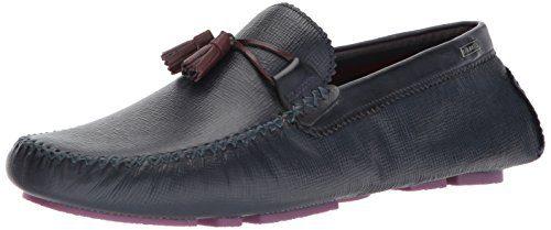 Ted Baker Men's Urbonn Loafer, Dark Blue Leather, 13 D(M) US