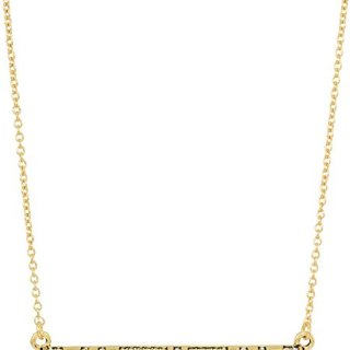 House of Harlow Women's Atum Bar Necklace Gold One Size