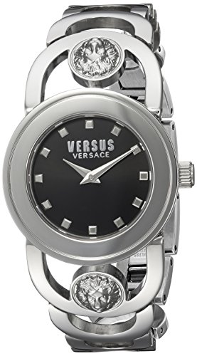 Versus by Versace Women's 'Carnaby Street' Quartz Stainless Steel and Gold Plated Casual Watch