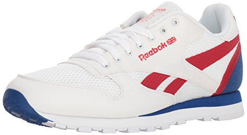 dcc37fd3b3b9c Reebok Men's Classic Leather Sneaker, White/Excellent Red/Team, 10.5 M US  Clout Wear Fashion for Womens, Fashion for Mens, Fashion for Kids