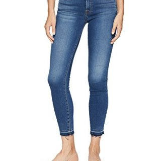 7 For All Mankind Women's The Gwenevere Ankle Skinny Jean, Medium Blue Waters, 28