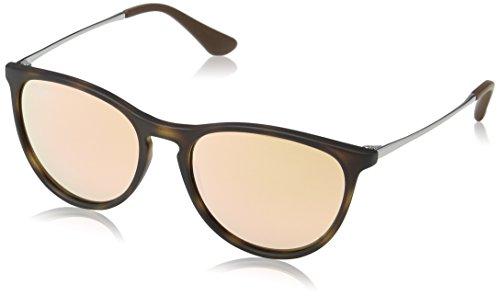 Ray-Ban Junior Women's Round Sunglasses, Havana Rubber, 50 mm