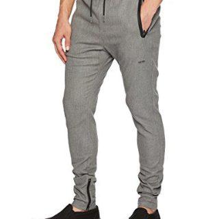 Zanerobe Men's Cling Pant, Grey Marle, 34