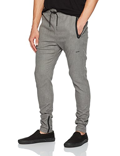 Zanerobe Men's Cling Pant, Grey Marle, 34